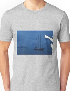 Boat by Sillouette Island - unedited Unisex T-Shirt