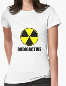 Radioactive Womens Fitted T-Shirt