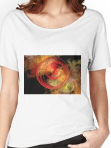 Fractal Roses Women's Relaxed Fit T-Shirt