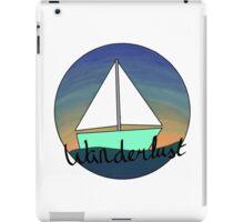 Wanderlust sails iPad Case/Skin