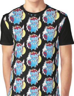 Mononoke Catbug Graphic T-Shirt