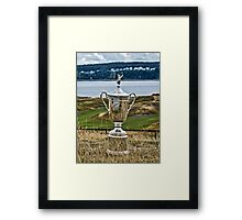 Golf The US Open (T-shirt, Phone Case & more) Framed Print