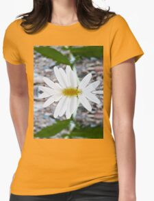 Daisy - Mirrored Womens Fitted T-Shirt