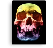 Pop Art Skull Face Canvas Print