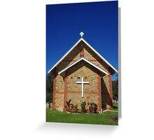Parish Church, Jarrahdale Greeting Card