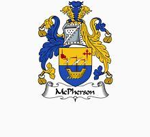 McPherson Coat of Arms / McPherson Family Crest Unisex T-Shirt