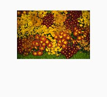 Bunches of Yellow, Copper, Orange, Red, Maroon - Fabulous Autumn Abundance Unisex T-Shirt