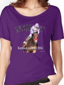 Nyquist Kentucky Derby Winner Women's Relaxed Fit T-Shirt