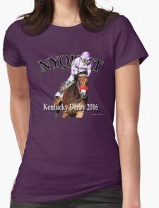 Nyquist Kentucky Derby Winner Womens Fitted T-Shirt