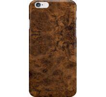 Burr Walnut iPhone Case/Skin