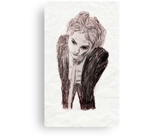Gerard way a beautiful creature Canvas Print