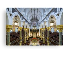New West End Synagogue Canvas Print