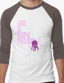 4 Lands - Purple Men's Baseball ¾ T-Shirt