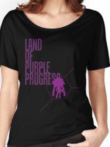4 Lands - Purple Women's Relaxed Fit T-Shirt