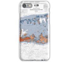 Florida Keys Map iPhone Case/Skin