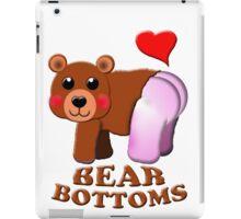love bear bottoms iPad Case/Skin