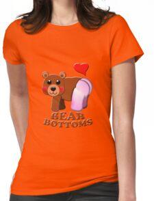 love bear bottoms Womens Fitted T-Shirt