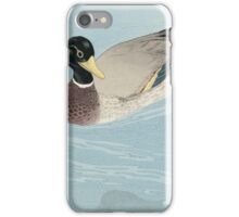 Vintage famous art - Hashiguchi Goyo - Ducks iPhone Case/Skin