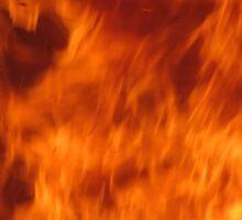 fire pattern 6 Sticker
