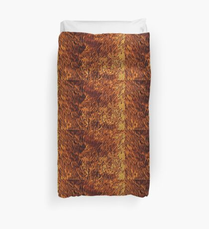 fire pattern 1 Duvet Cover