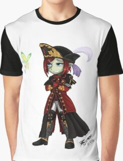 Mia Frydbharwyn Chibi with Eos Graphic T-Shirt
