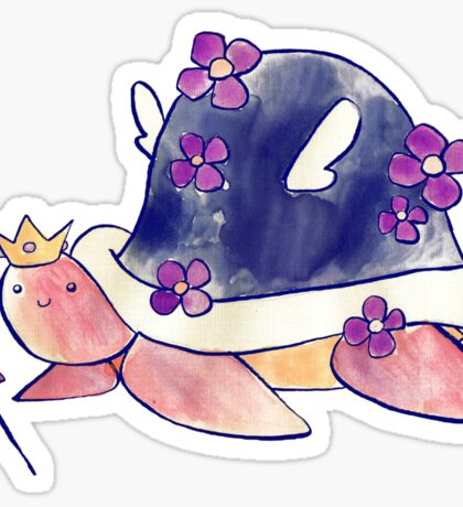 Fairy Princess Turtle Sticker