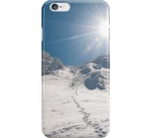 Goodby winter iPhone Case/Skin