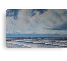 At The Beach Canvas Print