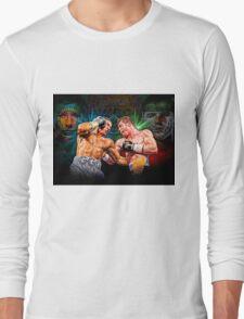 Canelo vs GGG (T-shirt, Phone Case & more) Long Sleeve T-Shirt