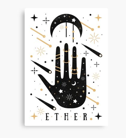 Ether Canvas Print