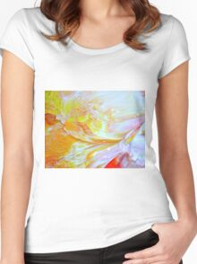 sinful butterfly wings Women's Fitted Scoop T-Shirt