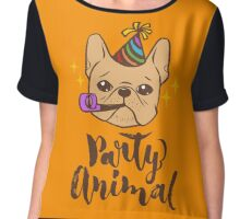 Party Animal Chiffon Top