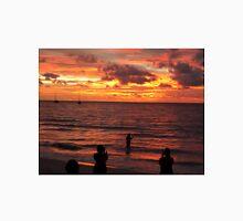 The burning Seychelles sunset Unisex T-Shirt