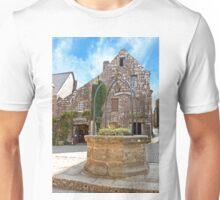 Fountain in the Village of Locronan Unisex T-Shirt