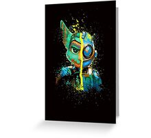 Ratchet & Clank Greeting Card