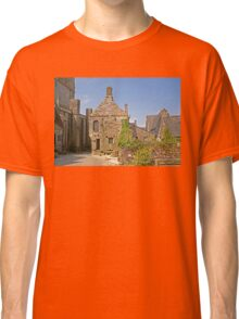 Old House in Locronan, Brittany France Classic T-Shirt