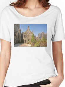 Old House in Locronan, Brittany France Women's Relaxed Fit T-Shirt