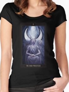 The High Priestess - Hecate Women's Fitted Scoop T-Shirt