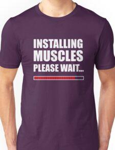 Installing muscles  Unisex T-Shirt