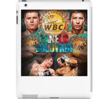 Canelo vs GGG WBC (T-shirt, Phone Case & more) iPad Case/Skin