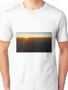 A380 sunrise Unisex T-Shirt