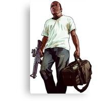 GTA  ganster Canvas Print