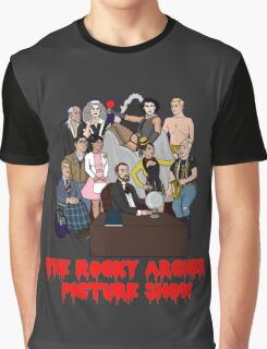 The Rocky Archer Picture Show Graphic T-Shirt