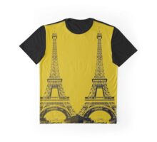 Eiffel Towers Graphic T-Shirt