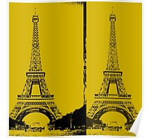 Eiffel Towers Poster