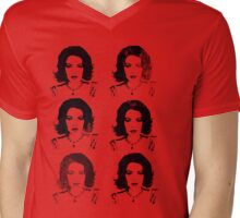 Look-a-Likes: Elizabeth Lohan Mens V-Neck T-Shirt