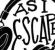 Music Quote Art Sticker