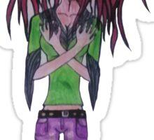 Medusa Manga Sticker