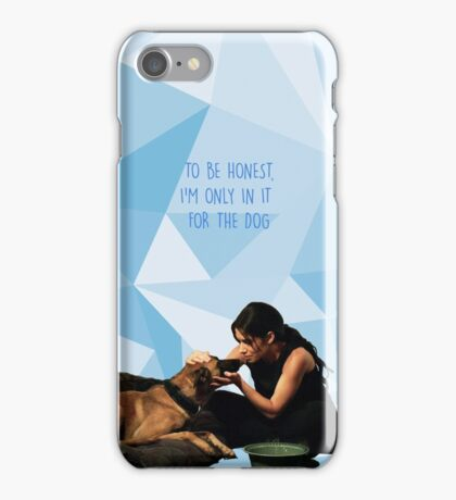 Person of Interest Shaw and Bear  iPhone Case/Skin