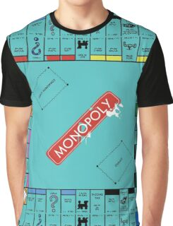 Monopoly Board Graphic T-Shirt
